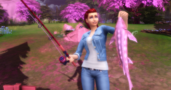A Pink Fish in a Pink Glade to Complete Milestone 3
