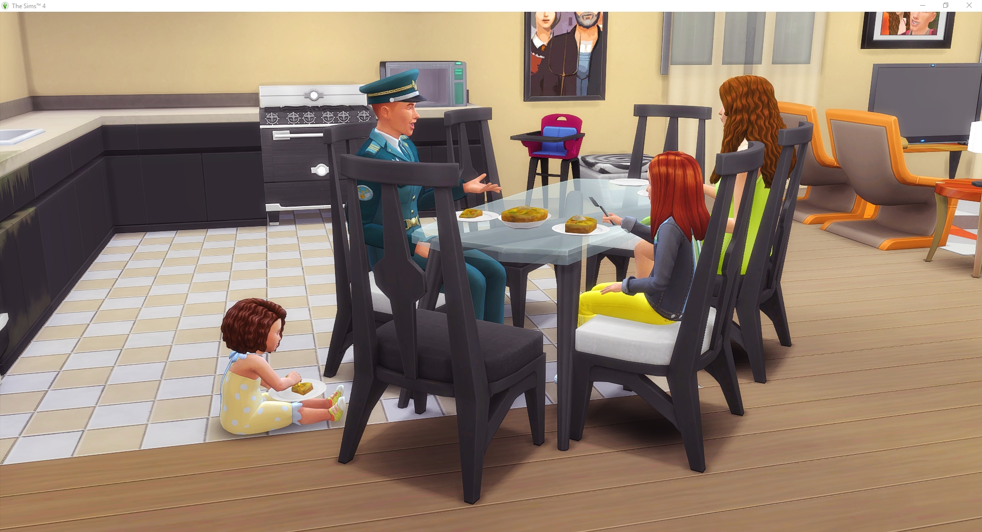 Masterful Sims: Time for the Children